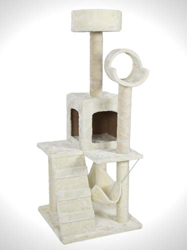 Best Choice Products Deluxe Cat Tower Tree Condo Scratcher Furniture Kitten House Hammock New, 52-inch