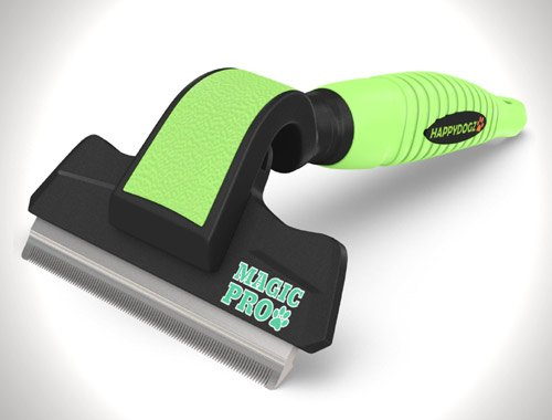 The Magic Pro Dog Deshedding Tool Reduces Shedding