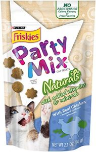 Purina Friskies Party Mix Naturals Cat Treats